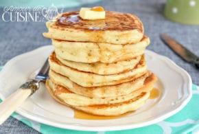 les vrais pancakes américains faciles et rapides