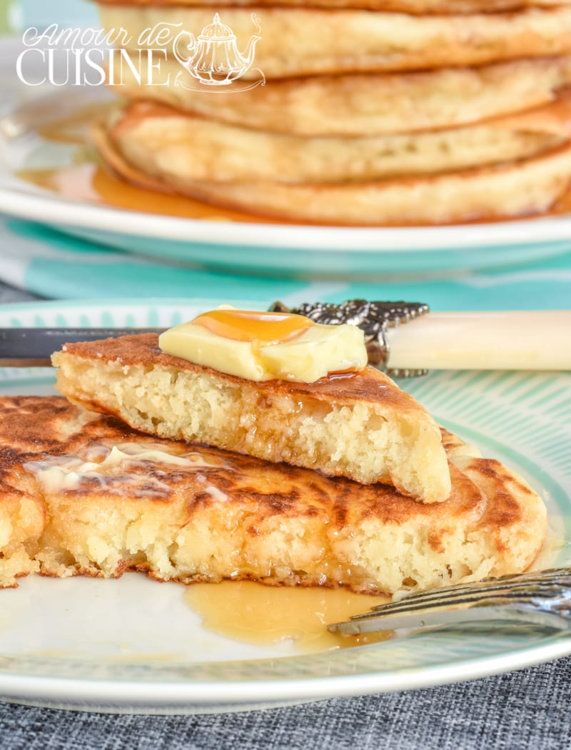 les vrais pancakes americains