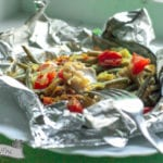 papillotes de poissons aux légumes