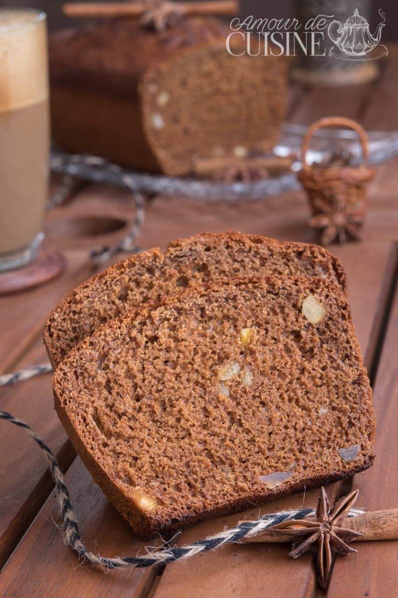 pain d'epices sans beurre_