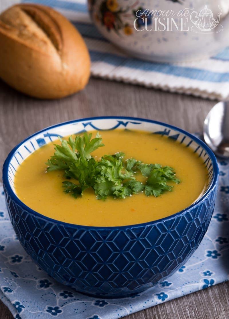 velouté de carottes à la coriandre 2