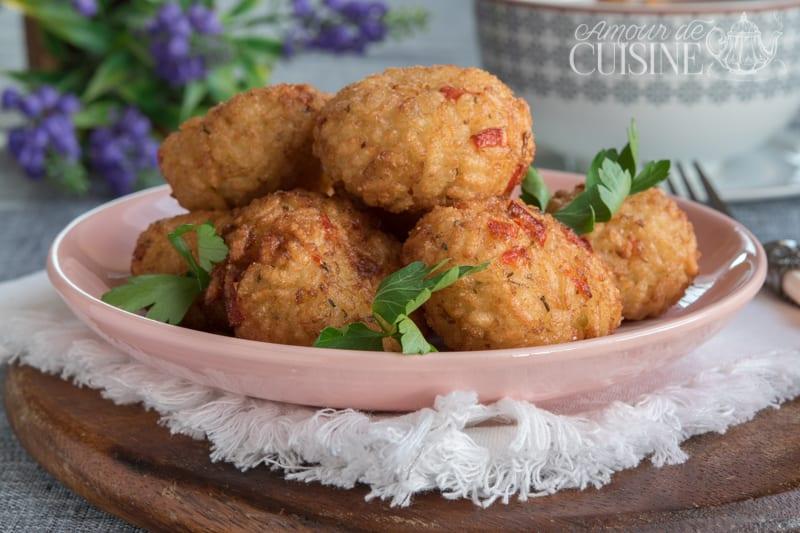 Croquettes de riz la mozzarella et origan amour de cuisine for Amour de cuisine de soulef