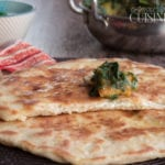 naans au fromage cheese naan