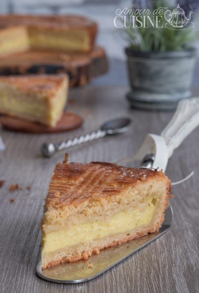 Recette du gateau basque amour de cuisine - Recette amour de cuisine ...
