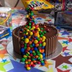 le gravité cake, gateau d'anniversaire 3