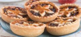 mincemeat pie, tartelettes anglaises aux pommes et raisins