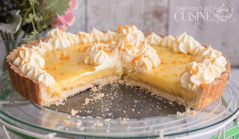recette de la tarte à l'orange 1