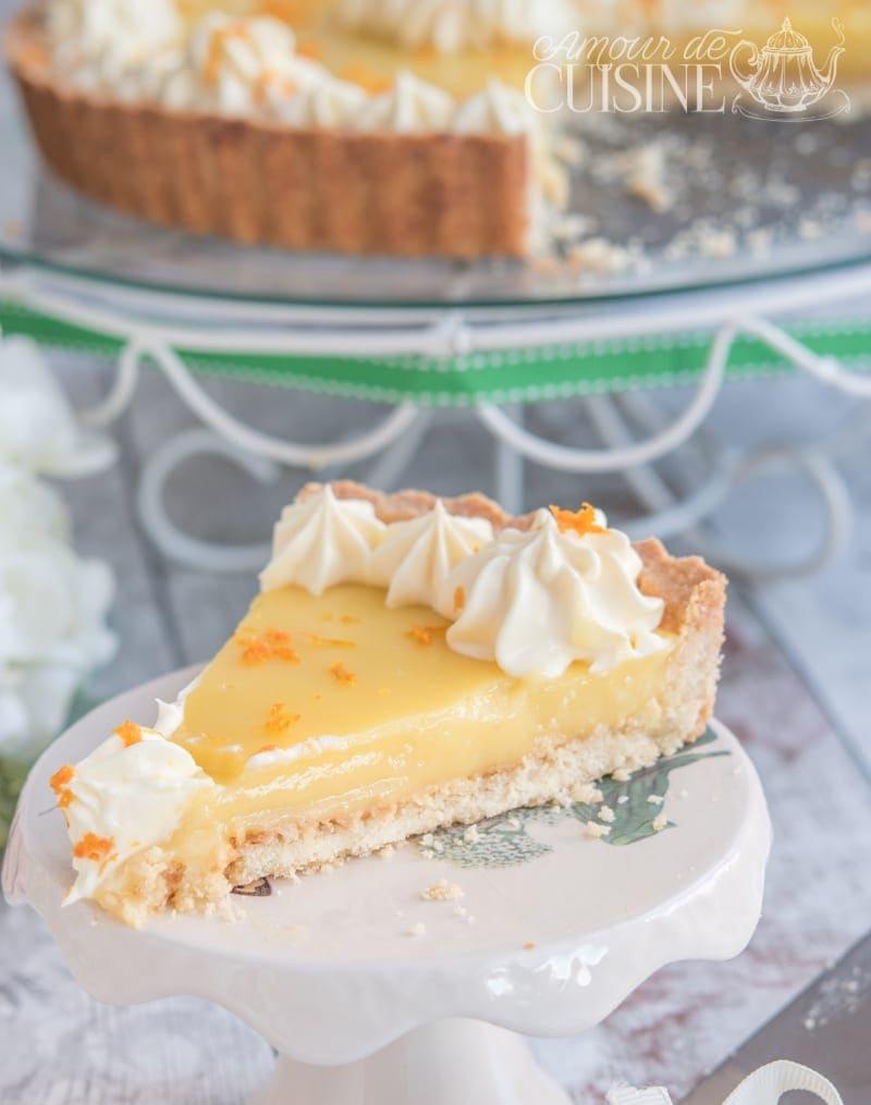 recette de la tarte à l'orange 2