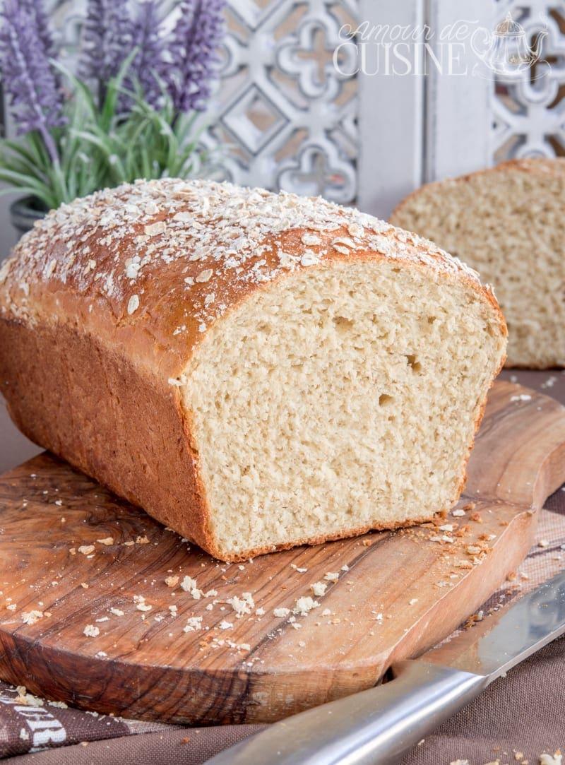 pain de mie aux flocons d'avoine 1