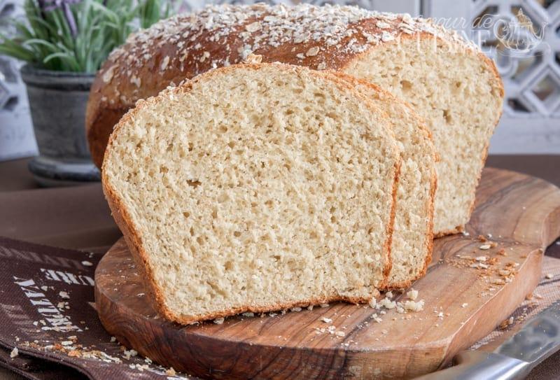pain de mie aux flocons d'avoine 2
