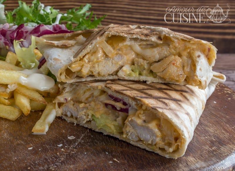 Tacos au poulet la sauce alg rienne amour de cuisine for Amour de cuisine algerienne