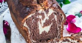 cake marbré moelleux et fondant