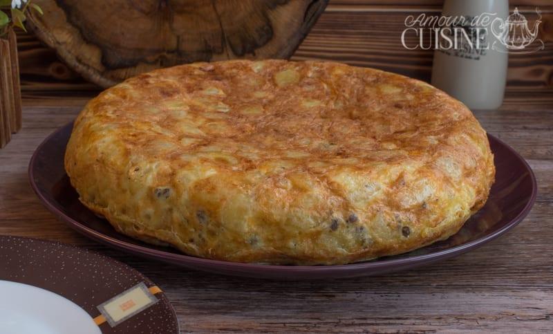 frites omelette farcie à la viande hachée 1
