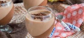 Duo de mahalabiya (mouhalabia) au chocolat et caramel