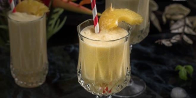 pina colada: boisson fraiche sans alcool