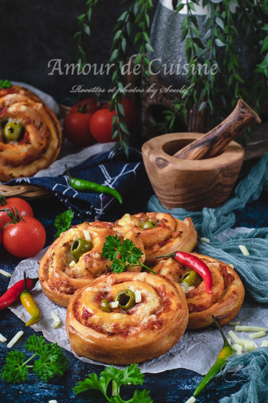 les roulés au thon ou pizza rolls