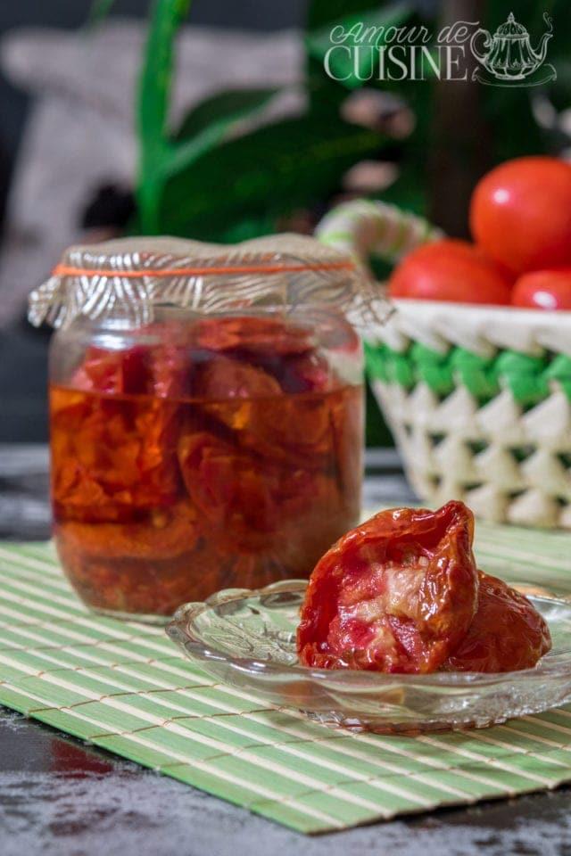 les tomates séchées maison au four