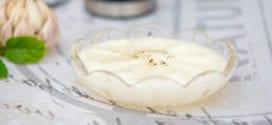 crème à l'ail sans oeuf, toumia