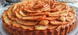 gateau sablé pur beurre aux pommes