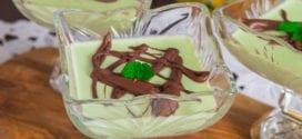 panna cotta chocolat sirop de menthe au thermomix ou sans