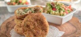recette peu caloriques galettes au saumon et chou kale