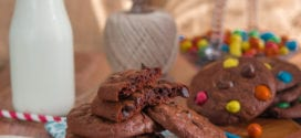recette de cookies brownie au chocolat