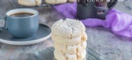 ghribia au beurre de cacahuètes, gateau sablé sans oeufs