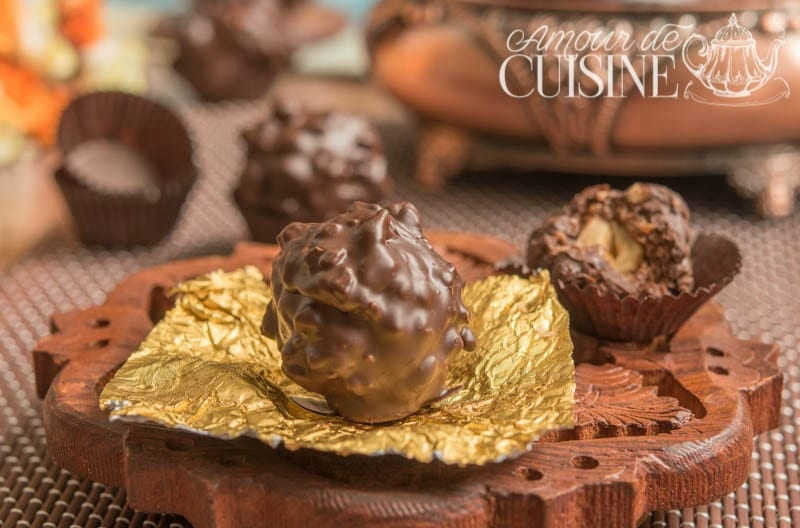 la recette des Ferrero Rocher maison facile et délicieux