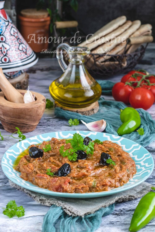 Zaalouk d'aubergines, cuisine marocaine