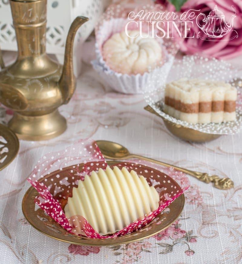 Assortiment de gateaux sans cuisson pour Eid el fitr