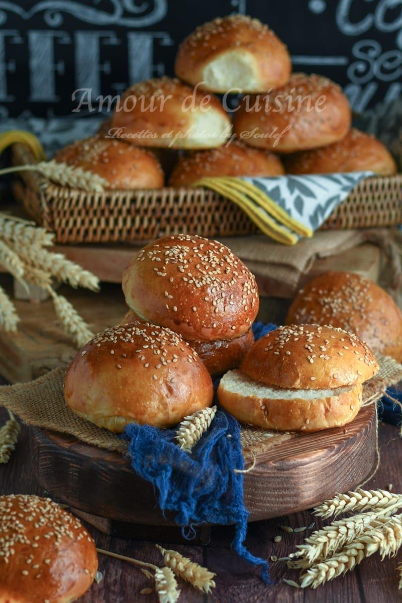pains burger extra moelleux les buns
