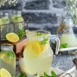 citronnade ou limonade au citron faite maison