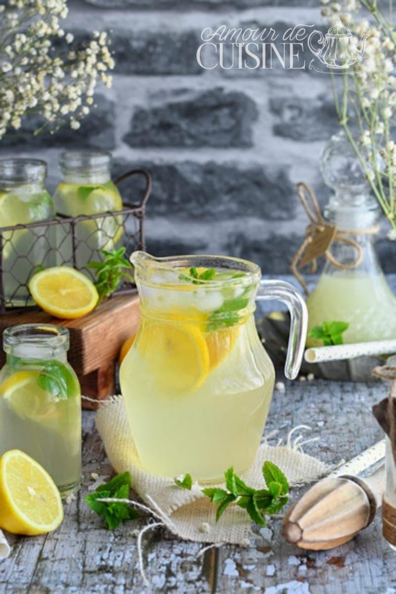 limonade au citron faite maison