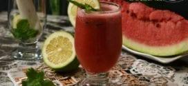 Mojito à la pastèque sans alcool