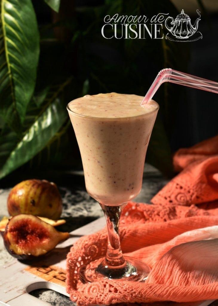 smoothie de figues fraîches 1