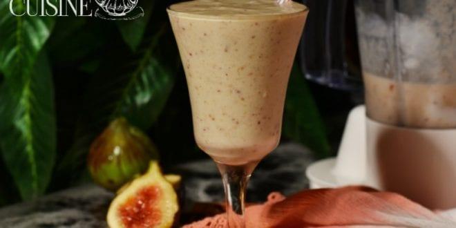 smoothie de figues fraîches
