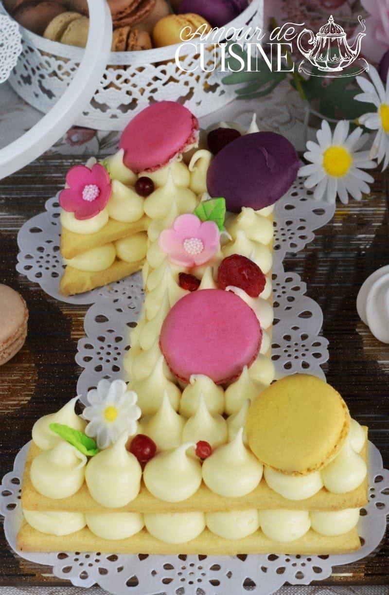 Number cake, gateau d'anniversaire facile