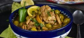 tajine d'agneau aux olives et citron confit