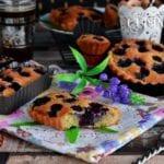 tartelettes amandines aux myrtilles
