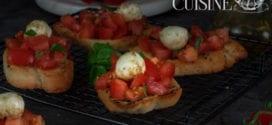 Bruschetta italienne à la tomate