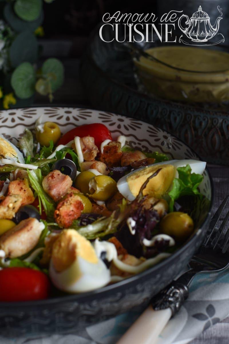 Recette de salade César