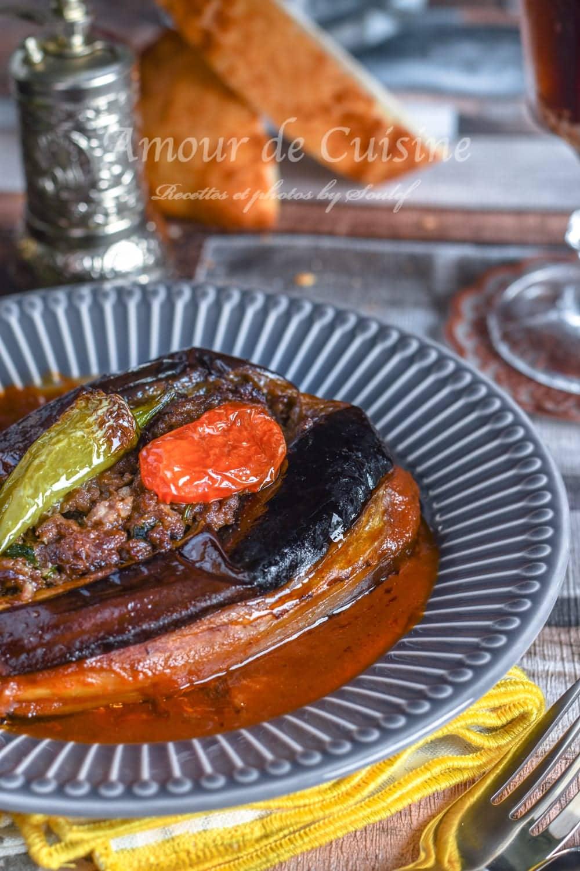 aubergine farcie au four
