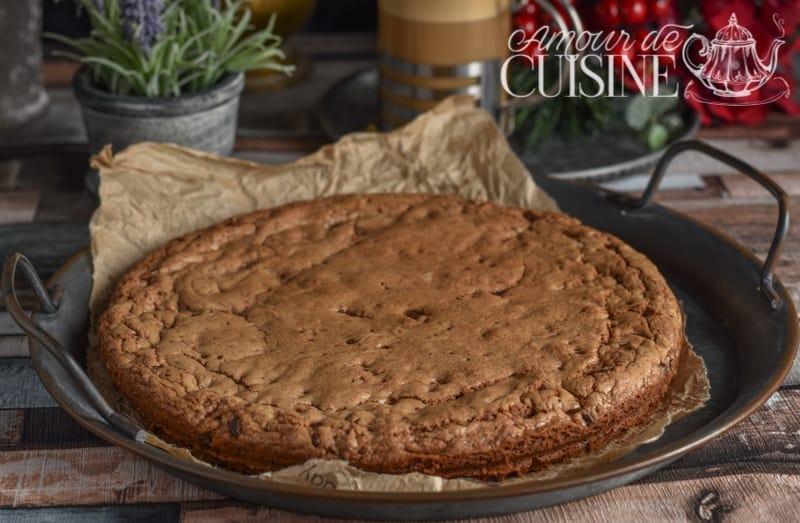 recette cookie géant XXL