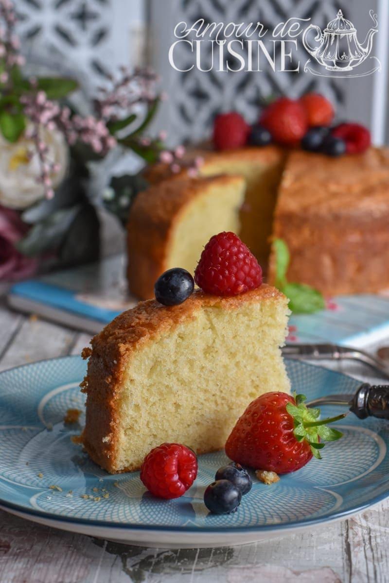 Recette de gâteau moelleux à la vanille 2