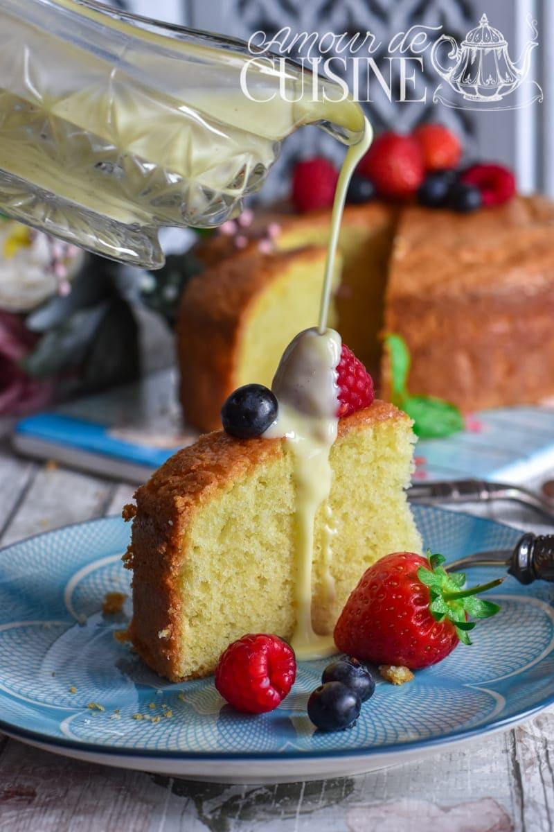 Recette de gâteau moelleux à la vanille 1