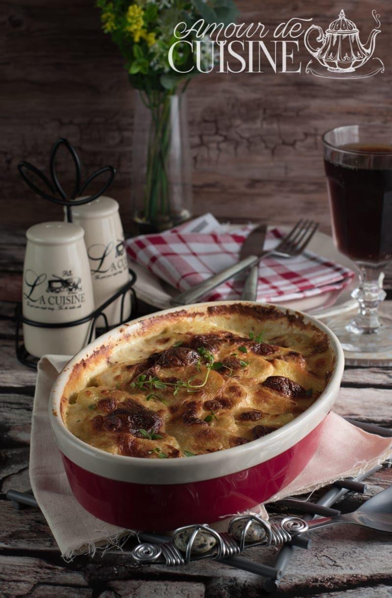 recette de gratin dauphinois facile et rapide
