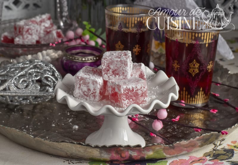 loukoum turc, cadeau gourmand