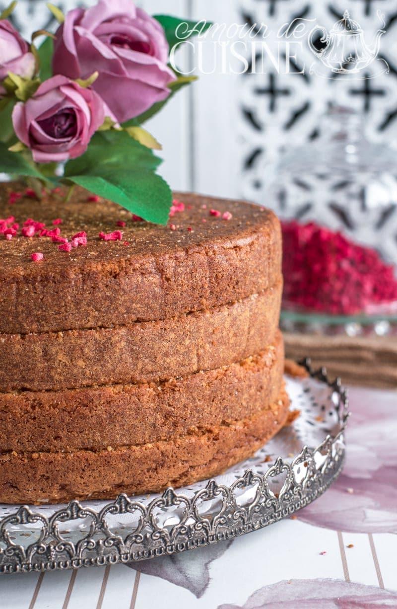 recette du Molly cake, base de gateau d'anniversaire 1