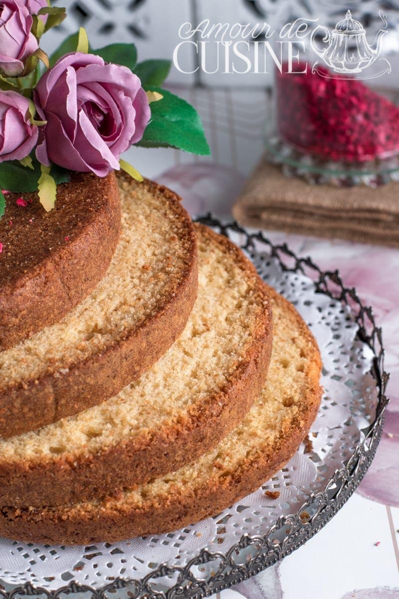 recette du Molly cake, base de gateau d'anniversaire