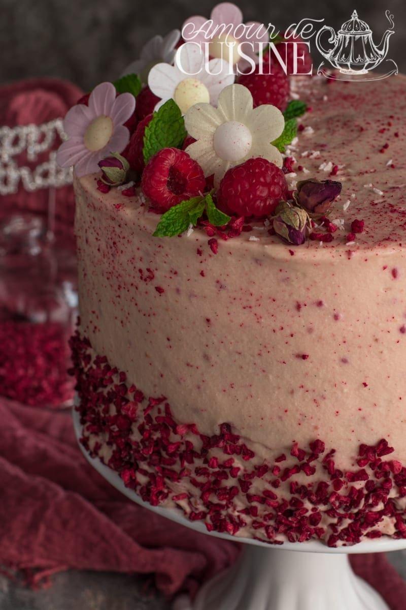 le layer cake, gateau d'anniversaire à étages 2